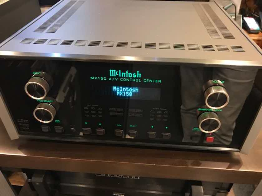 Mcintosh MX-150 A/V Control Center - Worldwide Shipping