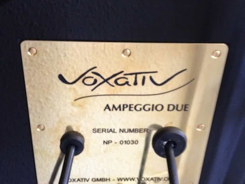 Voxativ Ampeggio Due Flagship Loudspeakers with Fieldcoil driver