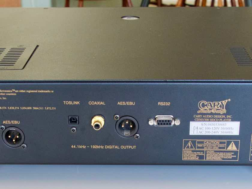 Cary Audio CD-303.300