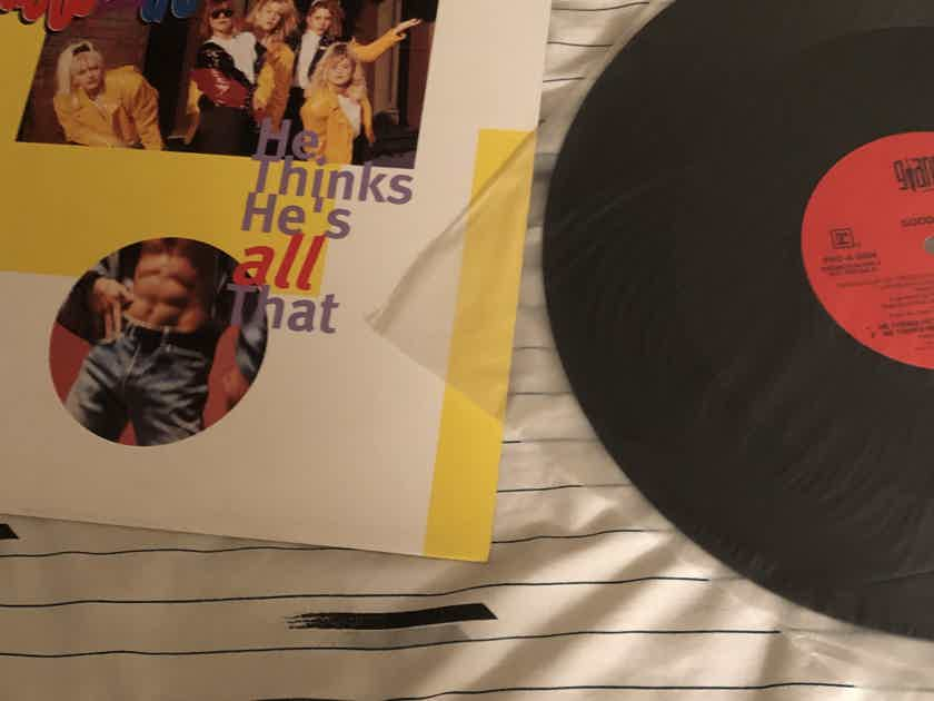 Good 2 Go He Thinks He's All That Giant Records 12 Inch