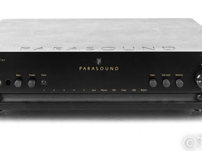 Parasound P5 Stereo Preamplifier; P-5; Remote (21569)