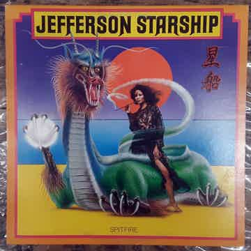 Jefferson Starship - Spitfire 1976 NM Vinyl LP Grunt BF...