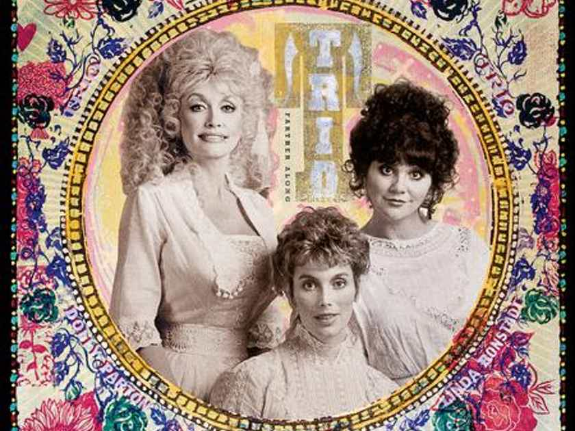 Dolly Parton, Linda Ronstadt & Emmylou Harris Trio, Father Along,2 LPs