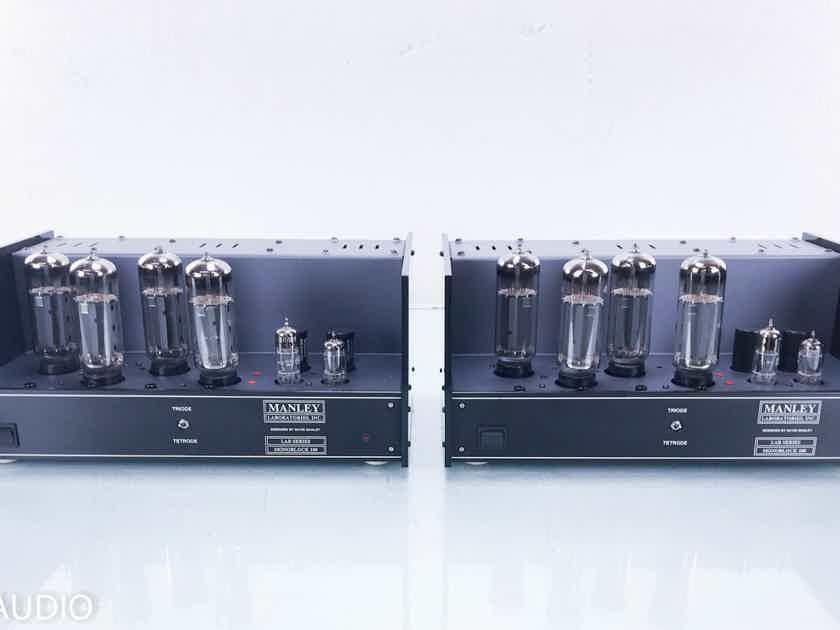 Manley Monoblock 100 Mono Tube Power Amplifier Pair (13554)