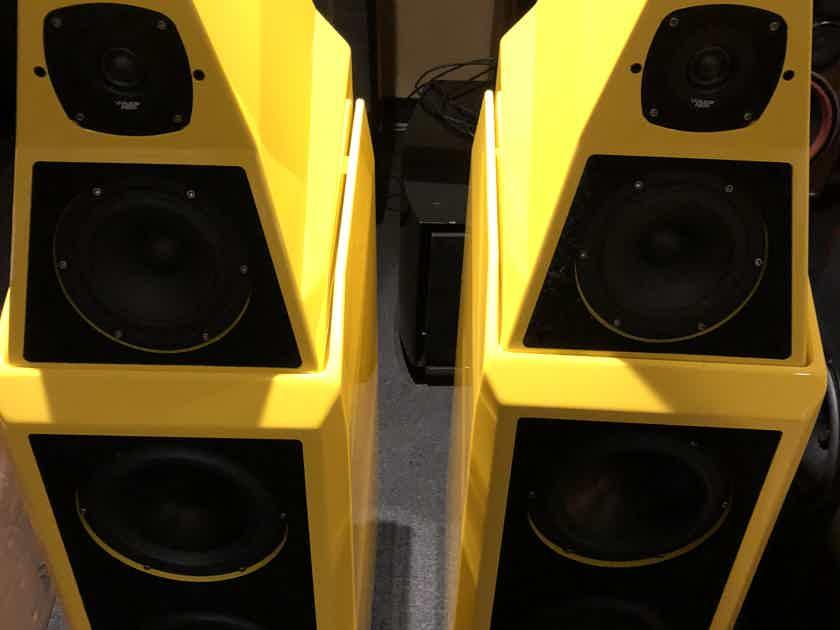 Wilson Audio Sasha 2 Fly yellow complete!!!