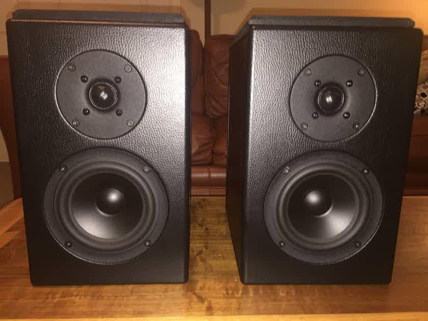 Falcon Acoustics R.A.M. Studio 10 loudspeakers in Burl Walnut - Free Shipping