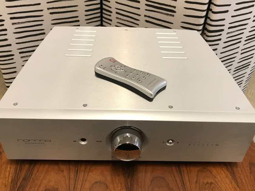 NORMA AUDIO IPA 140 Integrated Amplifier with Phono Stage in Silver