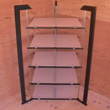 Triangle, opaque performance shelving, similar unit for sale, just one additional shelf