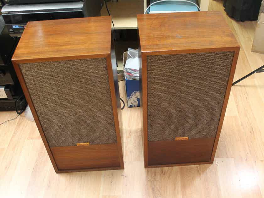 Pair :Hartley Holton Jr with Full Range Model 217 Drivers & Extra Tweeters - Excellent