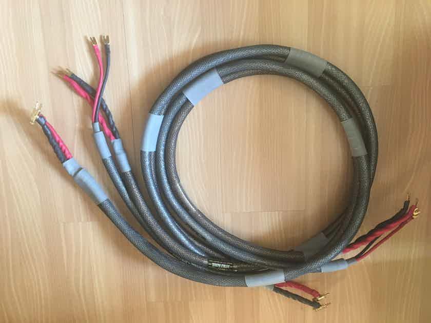 Acoustic Zen Double Barrel Shotgun Biwire Speaker Cables – 8 foot pair