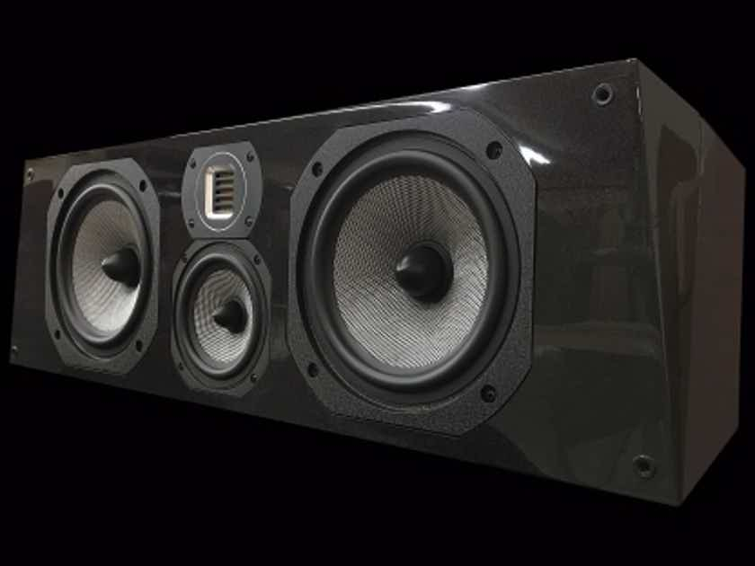 Legacy Audio Silver Screen Black Pearl Center speaker