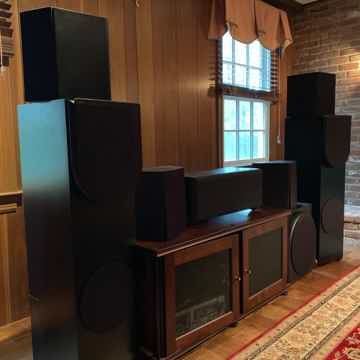 Revel Surround sound speaker system