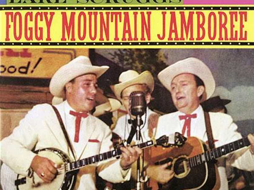 Lester Flatt And Earl Scruggs  Foggy Mountain Jamboree  (Mono)