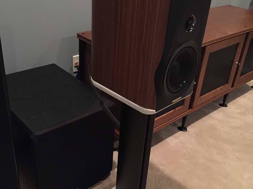 Sonus Faber Electra Amator III with stands - mint customer trade-in