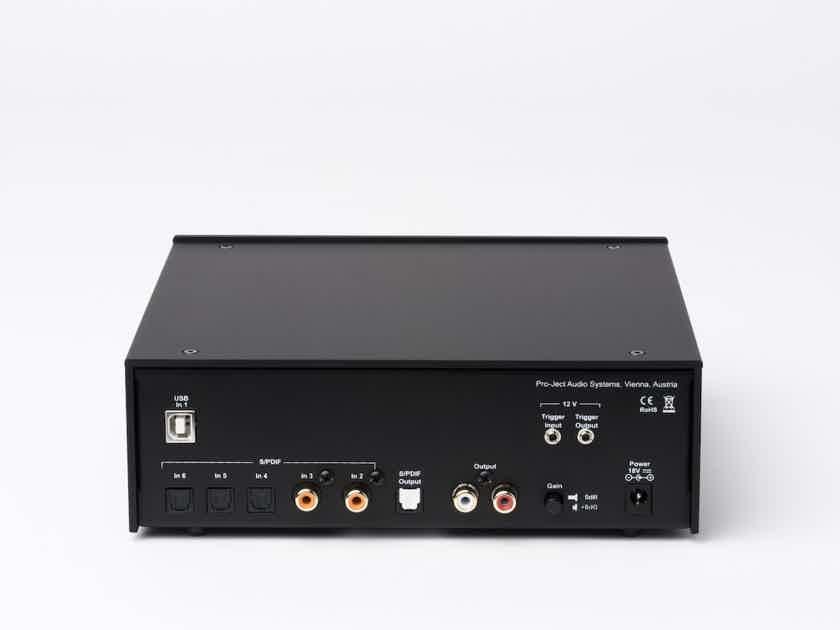 NEW Pro-Ject Audio Systems DAC Box DS2 Ultra - Advanced DAC - SILVER WALNUT