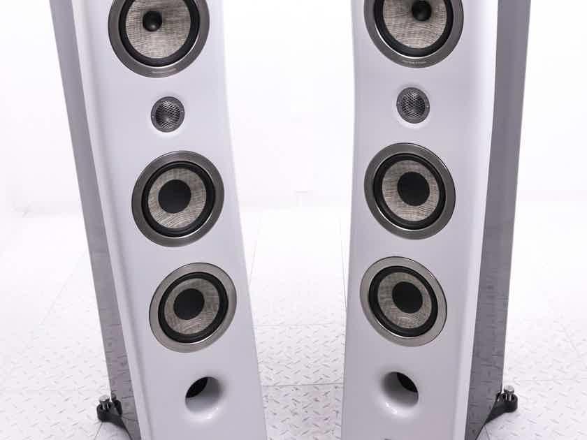 Focal Kanta 2 Floorstanding Speakers; High Gloss White/Black Pair; No.2 (20218)