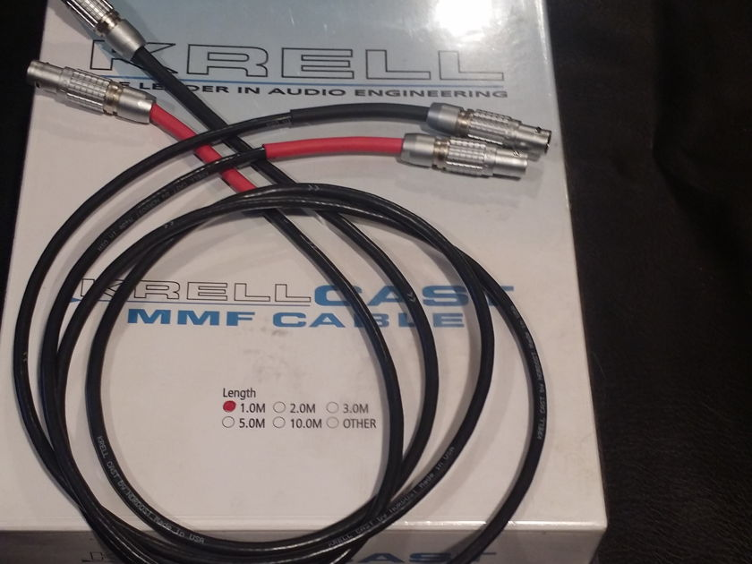 Krell Nordost  1m CAST Cable MMF