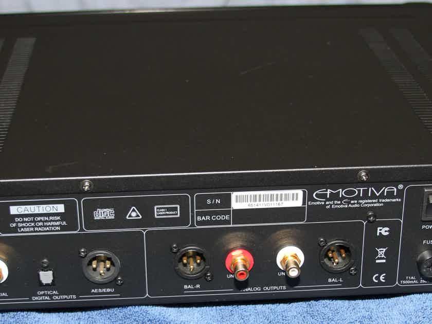 Emotiva ERC-3 Gen 2 CD Player/Digital Transport