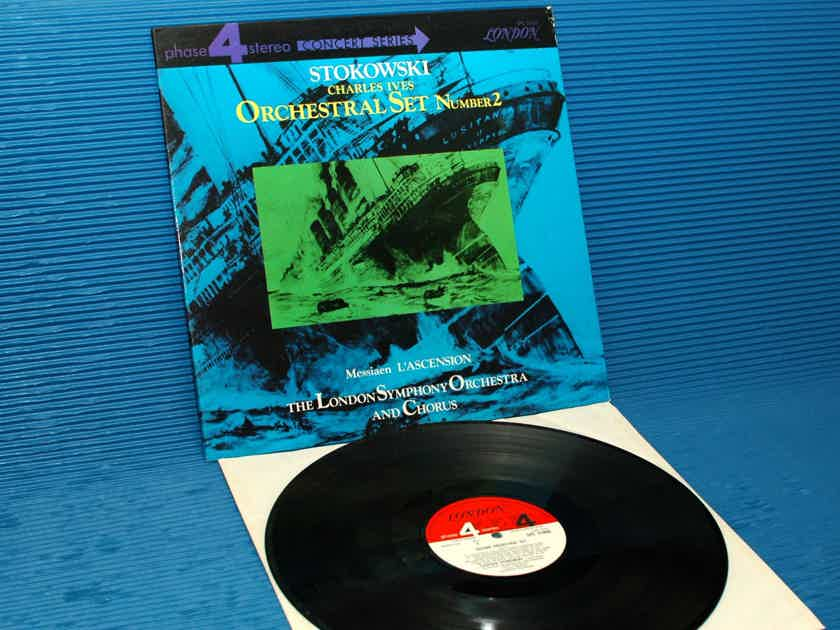 "IVES / Stokowski  - ""Orchestral Set 2"" -  London Phase 4 1968"