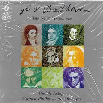 Beethoven: 9 Symphonies Kempe - Munich - EMI 6 CD