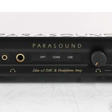Parasound Zdac v.2 DAC / Headphone Amplifier