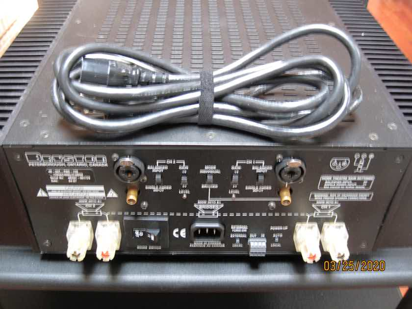 Bryston 4B-SST Solid State Power Amplifier 300wpc into 8ohms