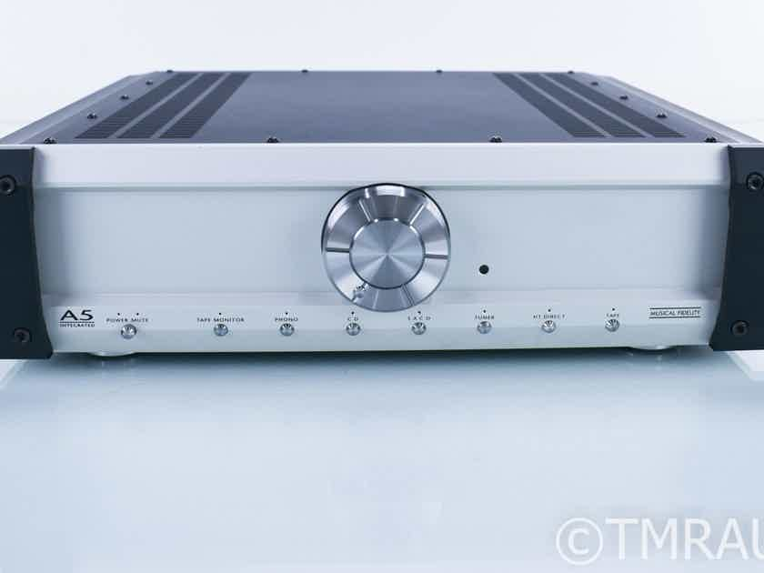 Musical Fidelity A5 Stereo Integrated Amplifier; Remote; MM Phono (17167)