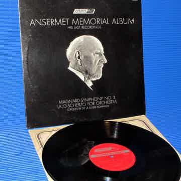 "ANSERMET MEMORIAL ALBUM  - ""Magnard Symphony 3 / Lalo S..."