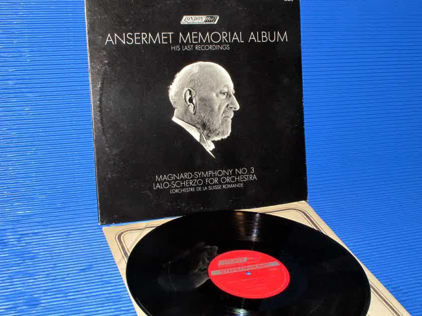 "ANSERMET MEMORIAL ALBUM  - ""Magnard Symphony 3 / Lalo Scherzo"" -  London1969 Early Pressing"