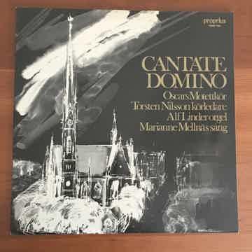 "Torsten Nilsson,  Alf Linder ""Cantate Domino"""