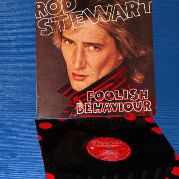 "ROD STEWART  -  ""Foolish Behavior"" -  Warner Bros 1980 ..."