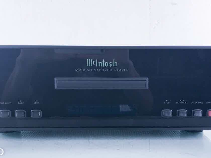 McIntosh MCD350 SACD / CD Player MCD-350 (14965)