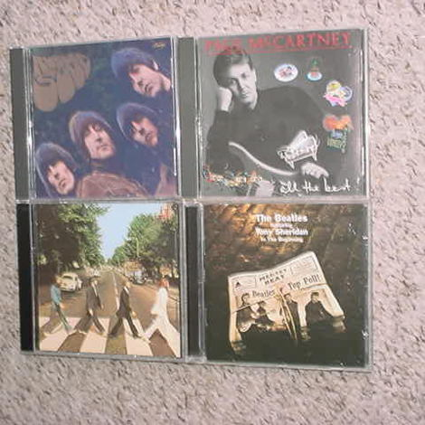 The Beatles and Paul McCartney cd lot of 4 cd's