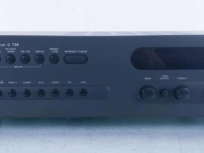 NAD C 730 Stereo Receiver C730 (No Remote) (14914)