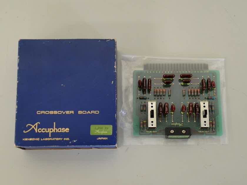 ACCUPHASE CROSSOVER BOARD CB-1200HZ  for F-5, F-15 WITH BOXES