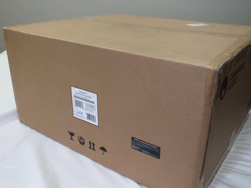 CAMBRIDGE AUDIO  Alva TT Direct Drive Turntable (w/High Output MC): NEW-In-Box; 30% Off
