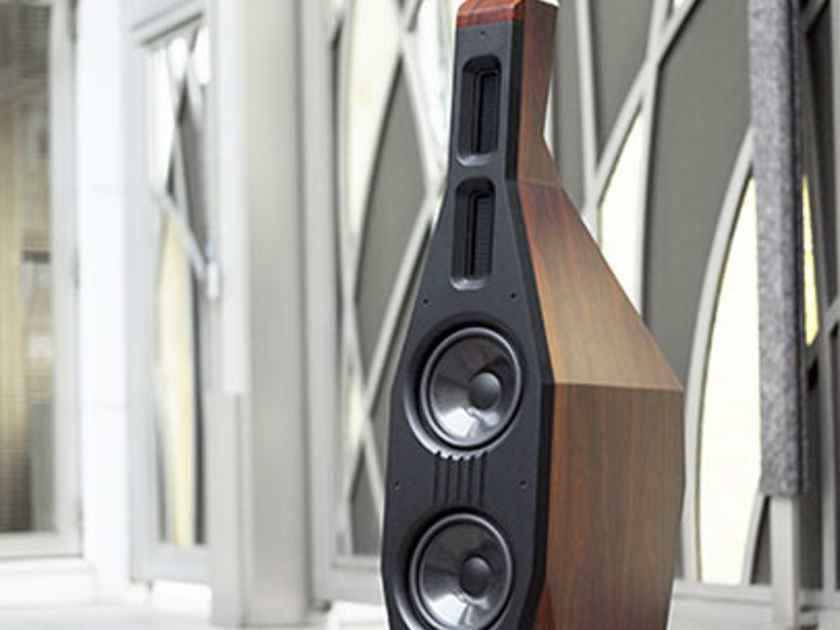 Lawrence Audio Cello Piano Gloss Rosewood Floor-standing Speaker -Trades Accepted