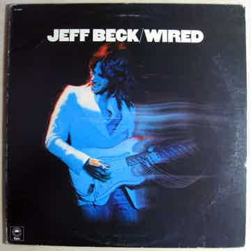 Jeff Beck - Wired - Original Press 1976 Epic ‎PE 33849