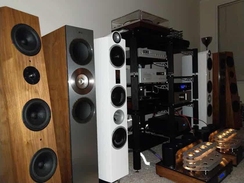 Mastersound  PF100 mono Amplifiers
