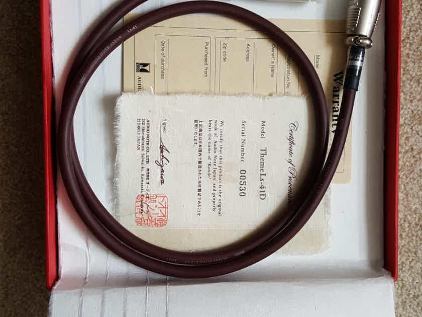 Kondo AudioNote Japan Theme LS-41D digital AES cable (1.0m)