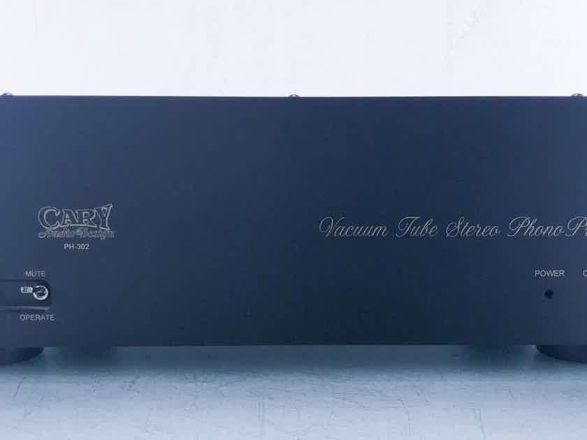 Cary PH-302 MM / MC Tube Phono Preamplifier PH302 (14972)