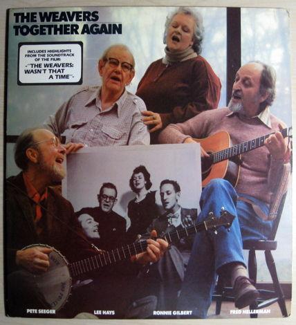 The Weavers : Pete Seeger, Lee Hays, Ronnie Gil..