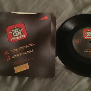 The Clash Rock The Casbah UK 45 With Picture Sleeve