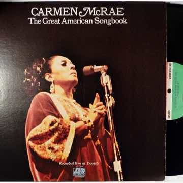 Carmen McRae The Great American Songbook