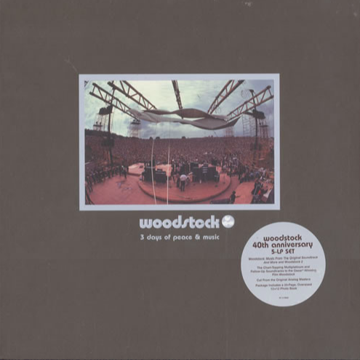 Woodstock 3 Days of Peace & Music 40th Anniversary 5lp ...