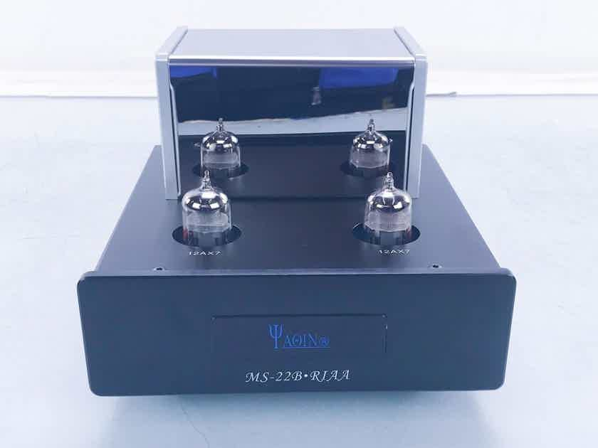 Yaqin MS-22B RIAA MM Tube Phono Preamplifier Moving Magnet (16194)