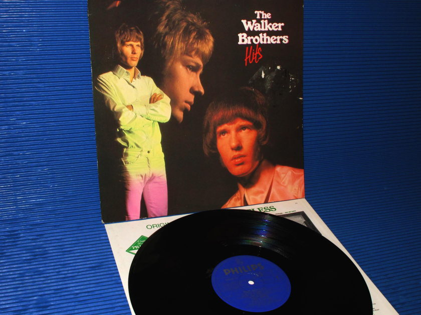 "THE WALKER BROTHERS  - ""The Walker Brothers' Hits"" -  Philips Import 1982"