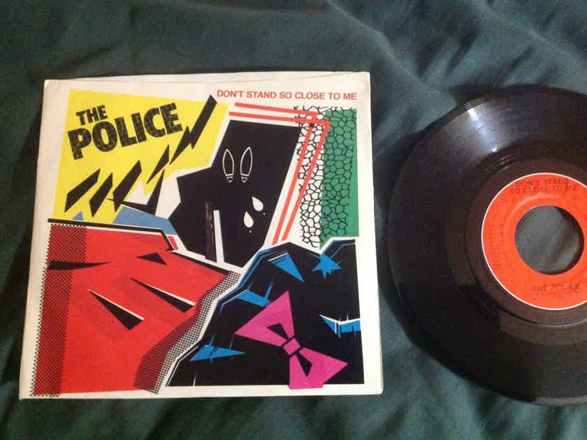 The Police - Don't Stand So Close To Me/A Sermon A & M Records 45 Single  With Picture Sleeve Vinyl NM