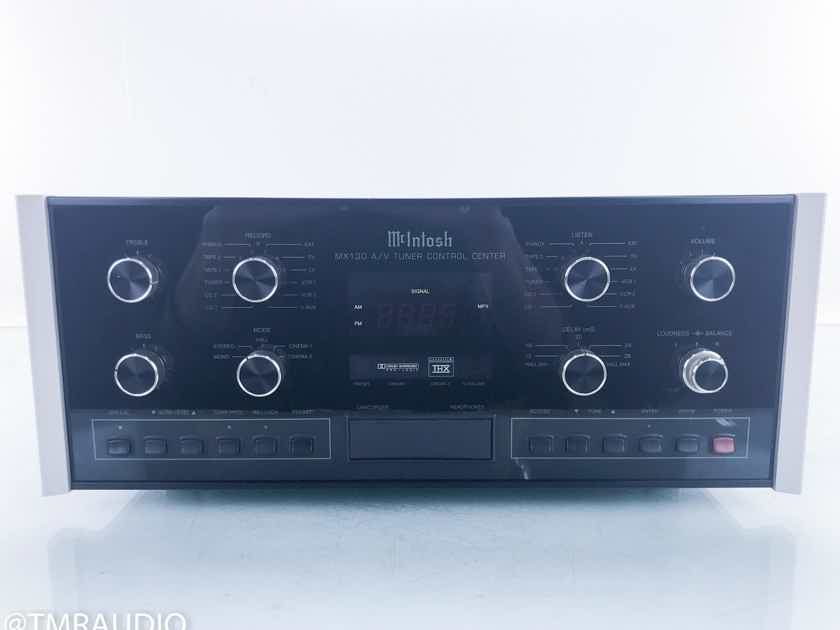 McIntosh MX130 Stereo Home Theater Processor Preamplifier; MX-130 (16149)