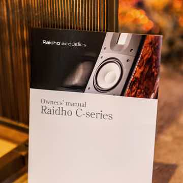 Raidho C1.2 - High Gloss White -